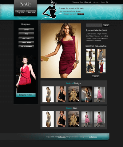 SoMe WebDesign Home Page