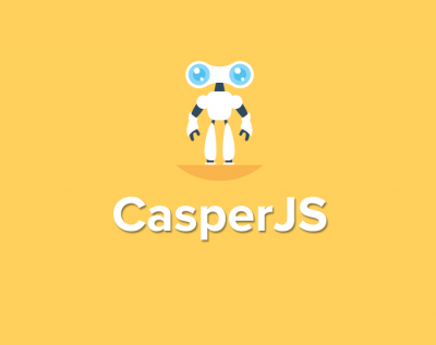 simple tests with CasperJS