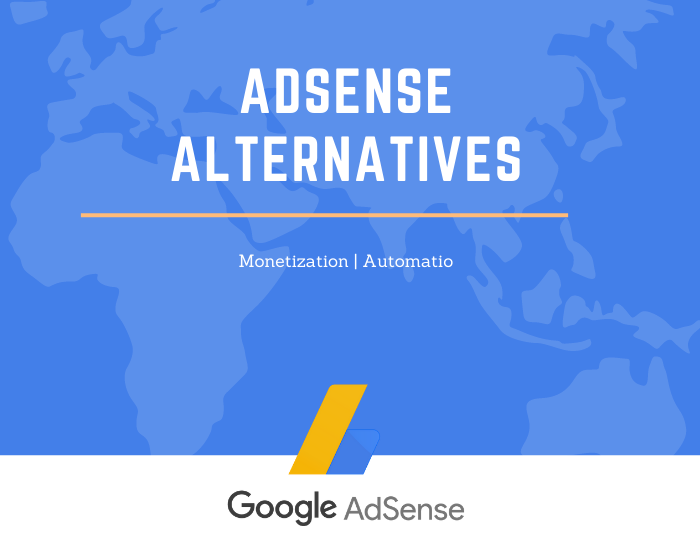 Adsense Alternative Ad networks